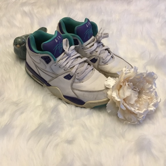 separation shoes eadd8 188ed Nike Air Flight 89 White Dark Concord-Hype size 10.  M 5a85ec391dffda3f4f107250